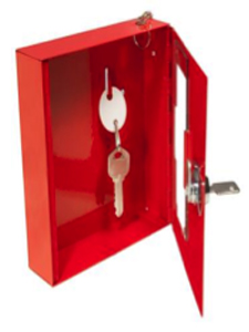 Emergency key boxB