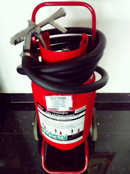Extinguisher Wheel 35kg Asia