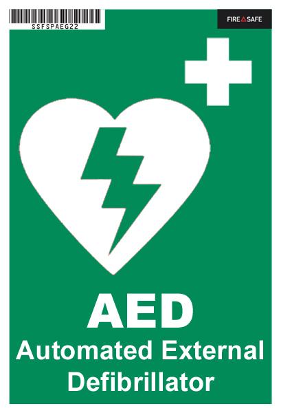 SSFSXAEG22 AED Green